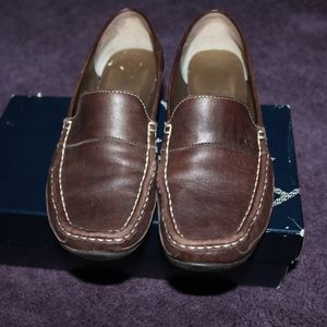 Brown Anne Klein loafers